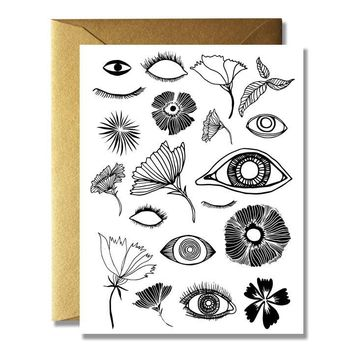 Blooming Poppies Card