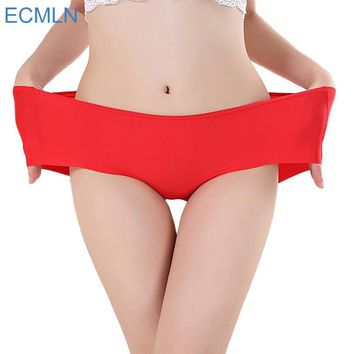 Delicate Hot! 2016 Women's Fashion Invisible Underwear Spandex Seamless High Quality Briefs Panty Bikini Newest big size pantie