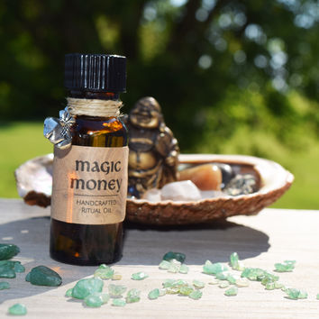 MAGIC MONEY OIL Anoint Your Cash, Ask it to Multiply & Come Back - LOA Law of Attraction Game