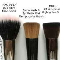 MUFE Highlighting Brush MAC 187 Sonia Kashuk Multipurpose … | Flickr
