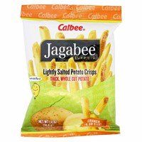 Calbee Jagabee Lightly Salted Potato Sticks 8 - 1.4 oz. bags (39g)