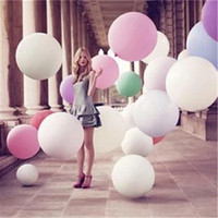 Free Shipping1pcs globos Super Large 70cm Matte Latex balloon Float air balls inflatable wedding birthday party decoration toys