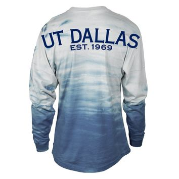 Official NCAA University of Texas at Dallas Comets UTD Temoc Spirit Wear Jersey T-Shirt