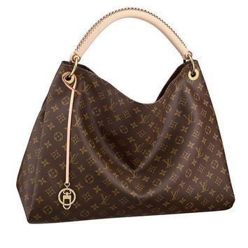 Louis Vuitton Monogram Canvas Artsy Mm Handbag Article:m40249 Made In France - Beauty Ticks