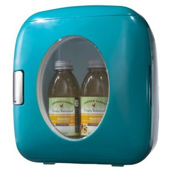 Sakar Portable 12-Can Mini Fridge - Multiple Colors Available