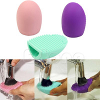 New Silicone Cleaning Cosmetic Makeup Brush gel Cleaner Scrubber Foundation Tool