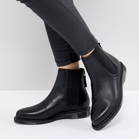 Dr Martens Zillow Refine Chelsea Boot in Black Leather at asos.com