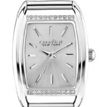 Caravelle New York by Bulova Women's 43L169 Analog Display Japanese Quartz Silver Watch