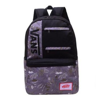 ESBONV Vans Trending Fashion Sport Laptop Bag Shoulder School Bag Backpack G-A30-XBSJ