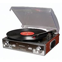 Tech Turntable - Mahogany- Crosley Radio-Computers & Electronics-Home Theater & Audio-Turntables