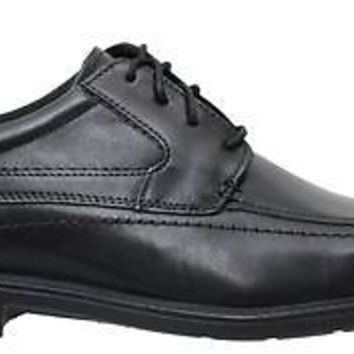 Clarks Mens Shoes Lace Up Quid Freaser Black Leather 66154