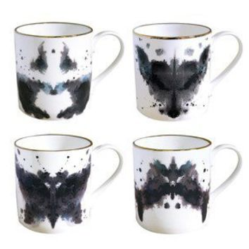 Luna & Curious: Ink Blot Mugs