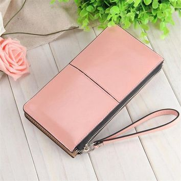 New Lady's purse Big Capacity Clutch bag Women Wallet long fashion zipper Hand bag Ladies ID Card Holders female leather walletKawaii Pokemon go  AT_89_9