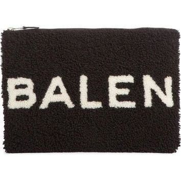 ONETOW balenciaga genuine shearling pouch nordstrom 2