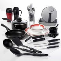 Walmart: Gibson Home College Kitchen 38-Piece Kitchen Combo Set