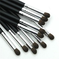 Wooden Handle Synthetic Fiber Eyeshadow Brush High Light Foundation Makeup Brush Eye Shadow Fashion Maquillage Make Up Tool