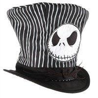 Costume Hats | The Nightmare Before Christmas Jack Skellington Top Hat