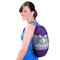 Cheer Drawstring Backpack 13 3/4in x 17in | Party City