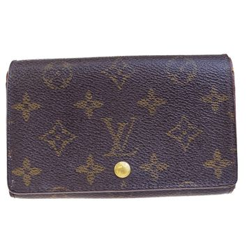 Auth LOUIS VUITTON Tresor Bifold Wallet Purse Monogram Leather BN M61730 09EC602