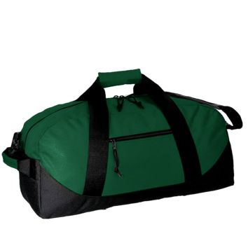 Zippered Polyester Duffle Bag