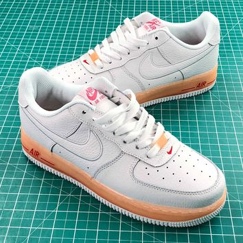 Nike Air Force 1 Low Upstep Jelly Orange Sport Shoes - Best Online Sale