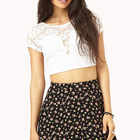 Showstopper Crochet Crop Top