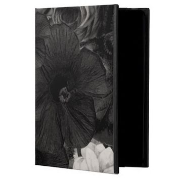 Black&White Floral Collage Powis iPad Air 2 Case