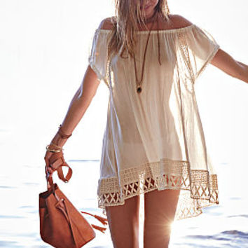 c2edc4c4795 Off-the-shoulder Cover-up Tunic - from Victoria's Secret