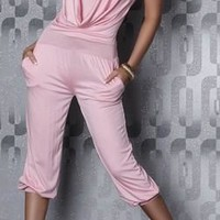 WOMAN JUMPSUIT DIANA PINK