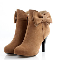 Hot Style Fashion Short Tube Leather Boots