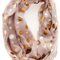DALLAS POLKA DOT SCARF