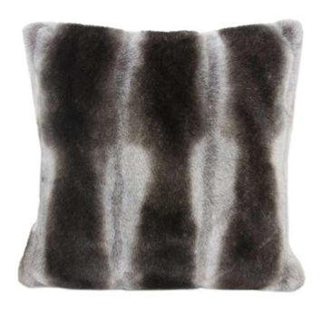 Faux Fur Pillow | Chinchilla