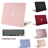 MOSISO for Macbook Pro 13 15 Retina Pro 13.3 15.4 inch Crystal Matte Plastic Hard Case Cover for Mac book Air 13 11 Laptop Shell