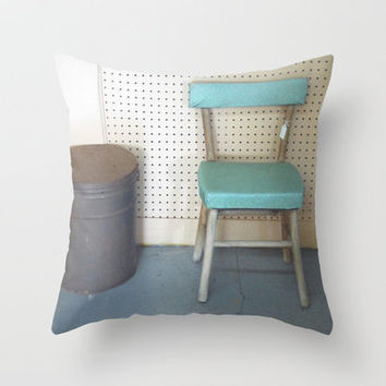 My What a Pretty Chair Throw Pillow by Stacy Frett