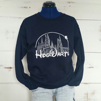 Hogwarts Castle Sweater // Harry Potter Sweatshirt // Harry Potter Shirt // Hogwarts Shirt // Harry Potter Clothing // Harry Potter Gift