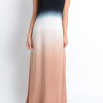 Ombre Surprise Back Dress