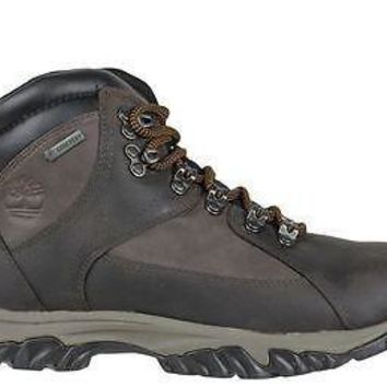 Timberland Mens Mid Boots Thorton Gore-Tex DK Brown Leather 5750A