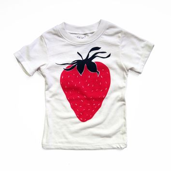 Strawberry Eco Blend Baby + Kids Tee