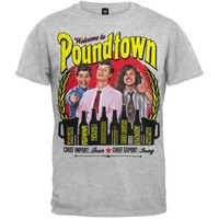 Ripple Junction Workaholics Welcome to Poundtown Adult T-Shirt