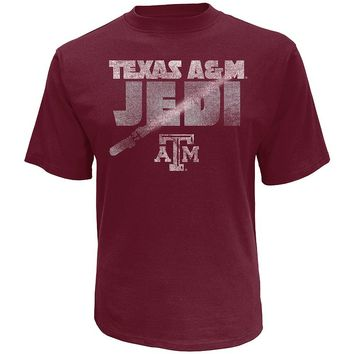 Star Wars College Texas A&M Aggies Jedi Tee