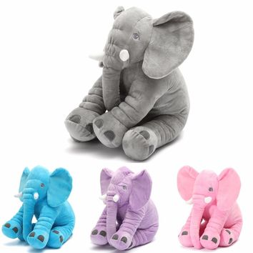 40CM Elephant Plush Toys Placate Doll Stuffed Plush Pillow Home Decor for Children Christmas Gifts