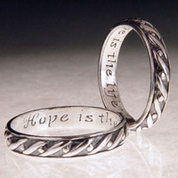 English: Hope Sterling Silver