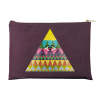 Pyramid in Space Pouch