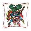 Marvel Heroes Throw Pillow
