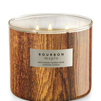 Bourbon Maple 3-Wick Candle | Bath And Body Works
