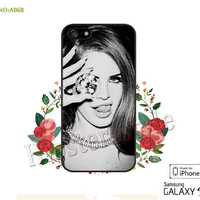 lana del rey  Phone Cases, iPhone 5/5S Case, iPhone 5C Case, iPhone 4/4S Case, Galaxy S3 S4 S5 Note 2 Note 3 Case for iPhone-A068