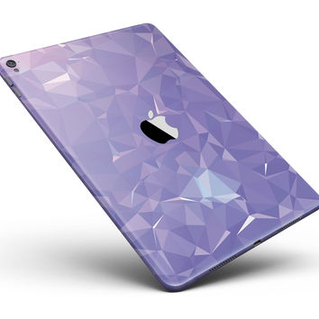 "Light Purple Geometric V13 Full Body Skin for the iPad Pro (12.9"" or 9.7"" available)"