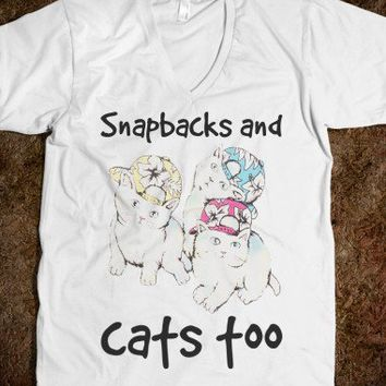 Snapbacks and Cats Too - Movie Quote Shirts