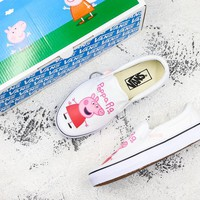 """Peppa Pig"" x Vans Slip On White Sneakers - Best Deal Online"