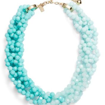 kate spade new york the bead goes on collar necklace | Nordstrom